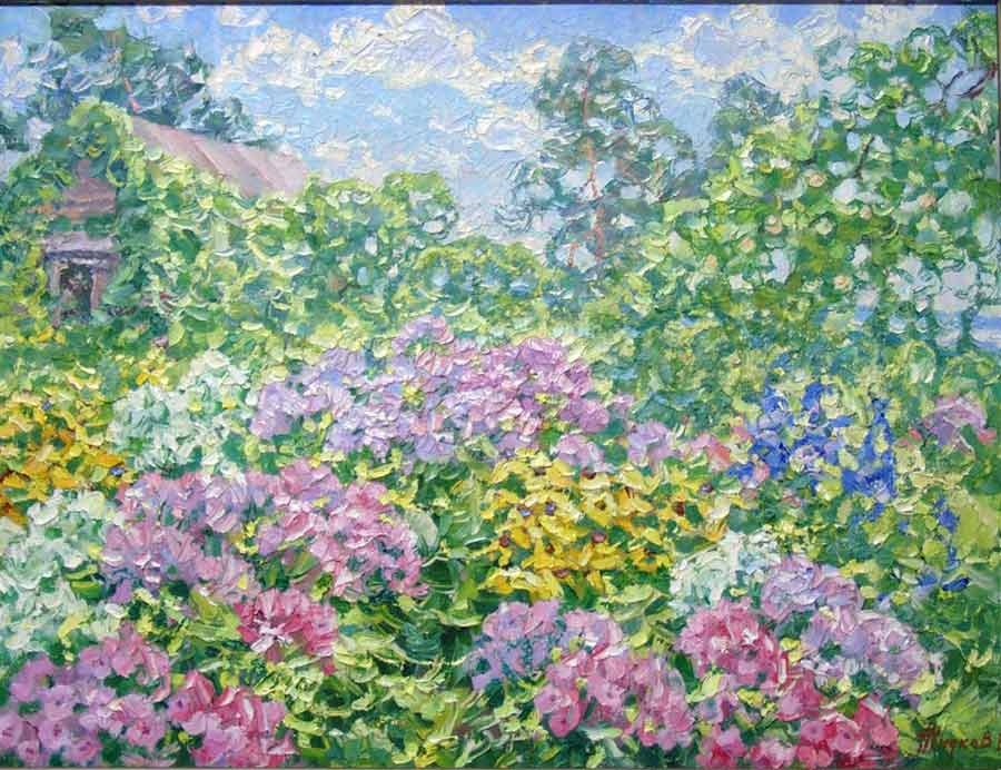 Blossoming garden (sold)