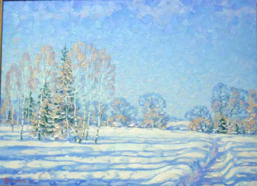 Blue February (sold)